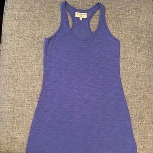 Bluish/purple tank dress